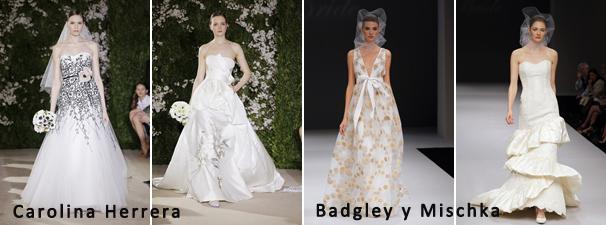 Un repaso por los vestidos de novia del 2012 | Casamientos Online
