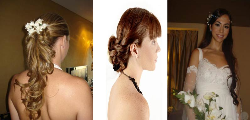 Peinados para novias matrimonio civil