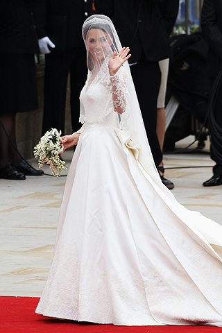 tendencia real: el vestido de kate middleton!!! | casamientos online